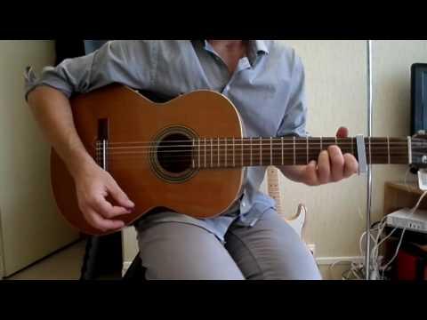 Comment jouer L'oiseau et l'enfant à la guitare
