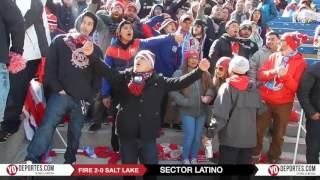 Sector Latino Chicago Fire 2-0 Real Salt Lake Opening Day
