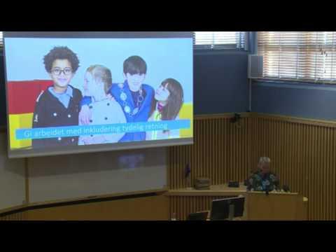 Föreläsning 3: Den nyttige innvandringen - Marianne Solbakken, Distriktssenteret