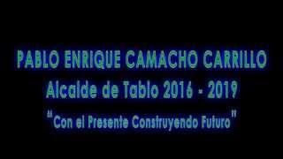 Pablo Enrique Camacho Alcalde Tabio 2016-2019
