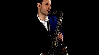 Juozas Kuraitis Saxophonist - Because I Love You (Video  Clip)