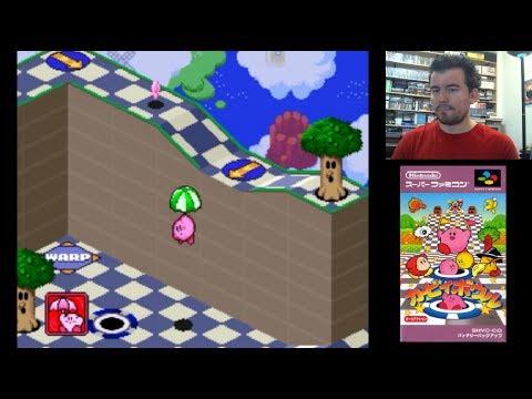KIRBY´S DREAM COURSE (SNES) - Diversión en Super Nintendo || Gameplay en Español