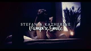 Stefan & Katherine [Vampire Smile]