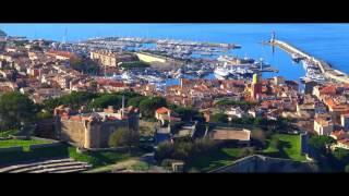 ASL Embraer Legacy 450 landing in St Tropez