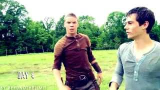 the maze runner cast   come with me now [gag reel]