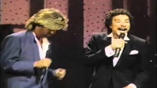 George Michael, Smokey Robinson - Careless Whisper (LIVE) HD