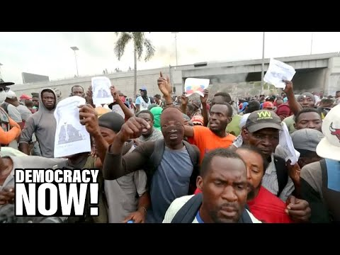 """Haiti entrenched in a """"terrible uprising"""" after end of support from Venezuela"""