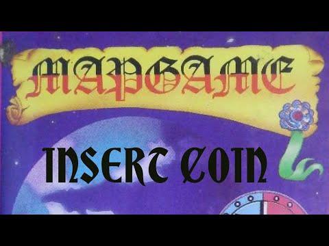 Mapgame (1985) - Amstrad CPC - Partida Completa