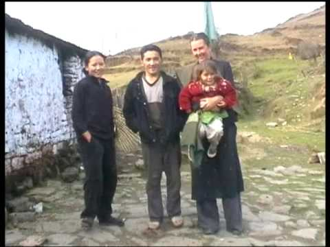 Nepal India Trekking of Single Mother with Children