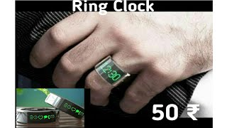 The world smallest ring clock   This is a best for beginners !!