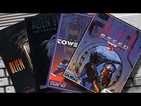 Amigamers Review #07 Alien Breed