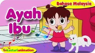 AYAH IBU   Nyanyian Anak Islam bahasa Malaysia bersama Diva   Kastari Animation Official
