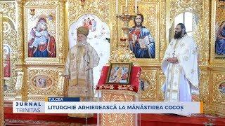 Liturghie arhiereasca la Manastirea Cocos