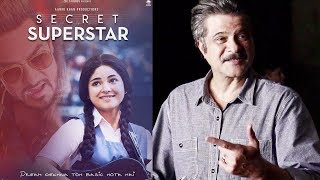 Aamir Khan's Secret Superstar Movie Review By Anil Kapoor