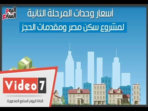 أسعار وحدات المرحلة الثانية لمشروع سكن مصر ومقدمات الحجز