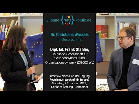 Kommunikationsstrategien der Populisten – Interview mit Frank Stähler