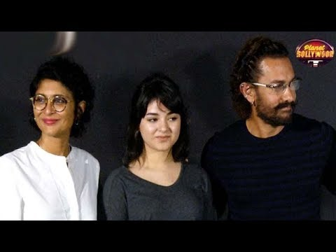 Aamir Khan Launches 'Secret Superstar' Trailer Along With Team | Bollywood News