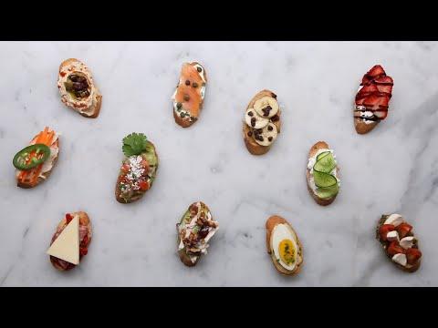 Crostini 11 Ways For Your Next Party ? Tasty