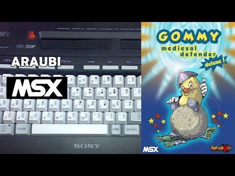 Gommy Defensor Medieval (Retroworks, 2013) MSX [268] Walkthrough Comentado