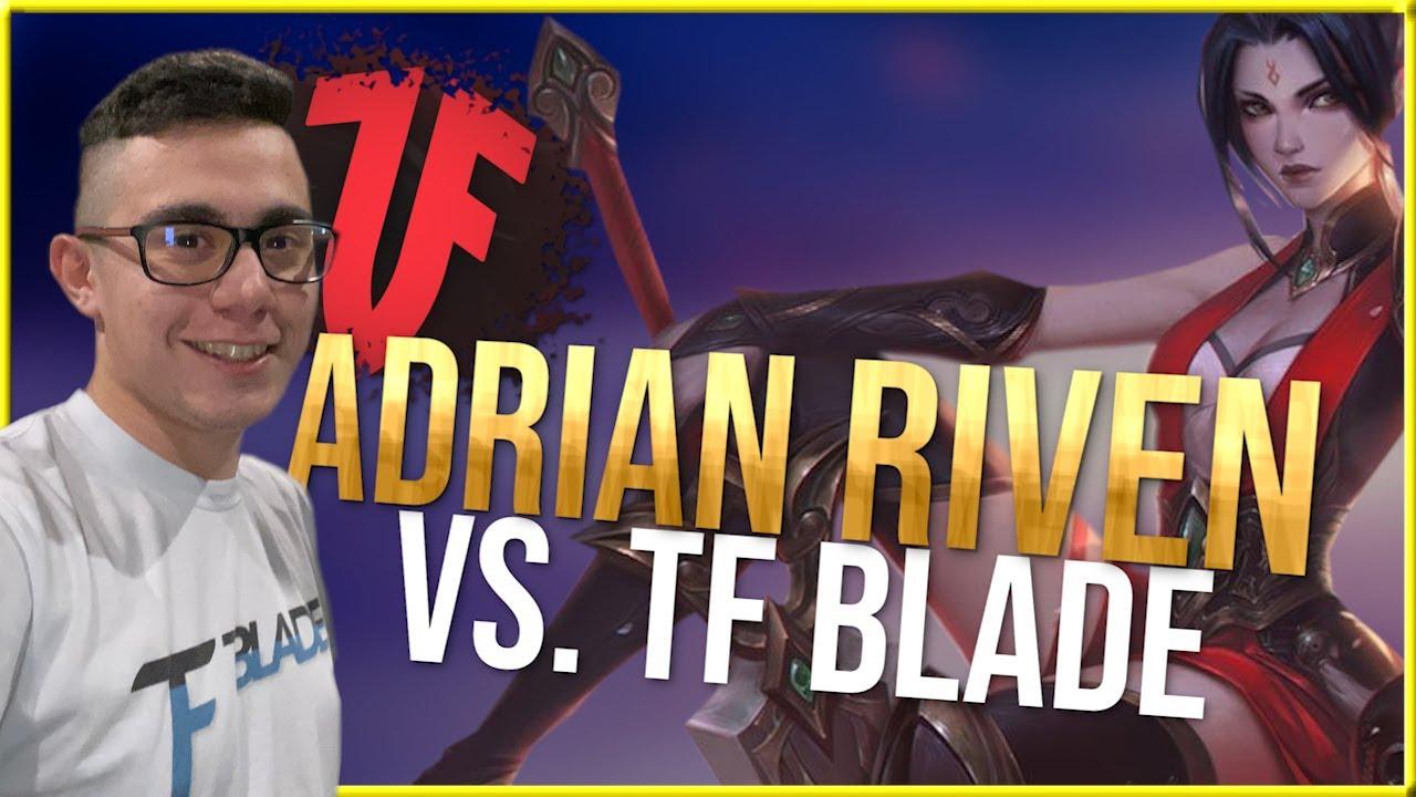 1Adrianaries1 - Adrian Riven vs TF Blade - Teaching jungle tracking