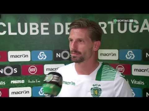 Flash de Leão Sporting TV: Adrien Silva e Jorge Jesus -13 agosto de 2016