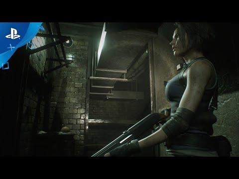 Resident Evil 3 - Jill Valentine Character Trailer   PlayStation 4