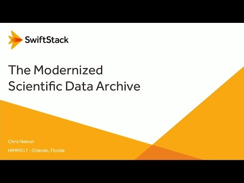 HiMMS 2017 | The Modernized Scientific Archive