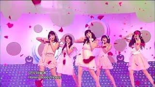【TVPP】KARA - Honey, 카라 - 허니 @ New Song Stage, Show Music Core Live