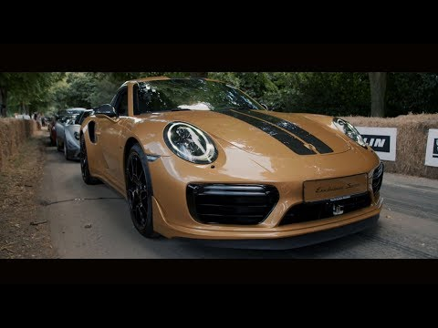 The new 911 Turbo S Exclusive Series ? exceptional design & performance come to Festival of Speed
