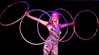 Revolva San Francisco Bay Area Hula Hoop Performer Demo