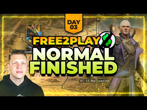 f2p Day 3 | Normal Campaign FINISHED! | More Shard RIPs