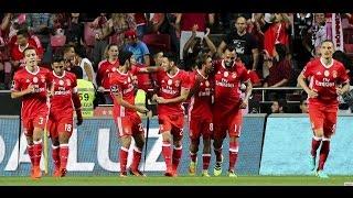 Benfica 3 - 1 Braga   5ª Jorn. Liga 2016/2017 - Golos do Benfica com relato