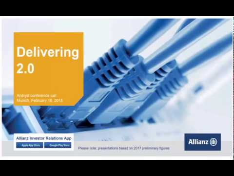 Allianz Group Analyst conference call on results fiscal year 2017