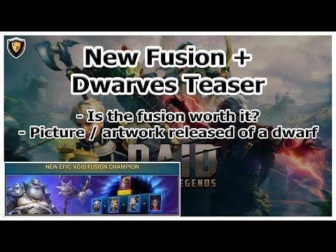 RAID Shadow Legends | New Epic Fusion | Dwarves Teaser