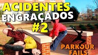 PARKUOR FAILS - Acidentes Engraçados #2 - NARRADO PELO GOOGLE TRADUTOR