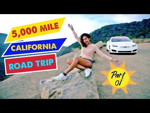 TESLA MODEL S ROAD TRIP: 5,000 Miles (PART 1) – Atlanta to Los Angeles