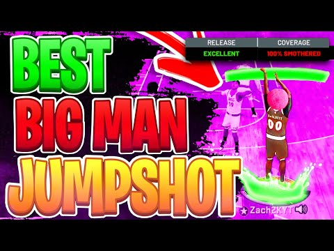 NEW  BEST JUMPSHOT FOR BIG MEN ON NBA 2K21 NEXT GEN! HIGHEST GREEN WINDOW JUMPSHOT FOR ALL BUILDS!
