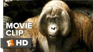 The Jungle Book Movie CLIP - King Louie (2016) - Christopher Walken Movie HD