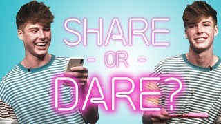 BLAKE GRAY Shares What's In His Phone   SHARE OR DARE
