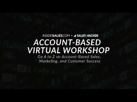 Account-Based Virtual Workshop Teaser