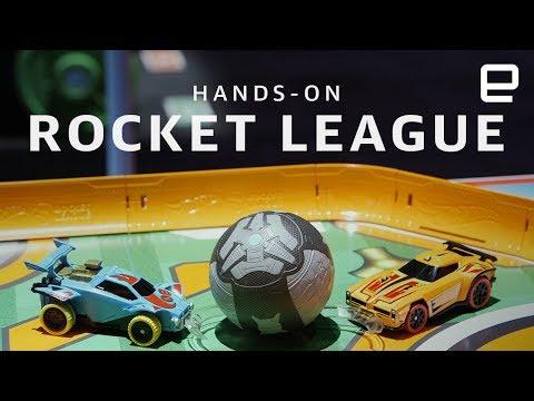 Hot Wheels Rocket League RC Rivals Set hands-on