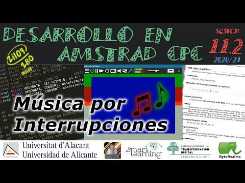 Música Arkos Player e Interrupciones, ¿Pueden llevarse bien? [ #Z80 #ASM ]