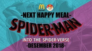 Desember 2018 Next Happy Meal McDonald's Asia Spider-Man Into The Spider-Verse