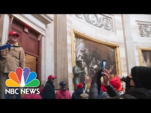 FBI Has 330 Open Cases After Capitol Riots And Is Turning To Social Media For Clues   NBC News NOW
