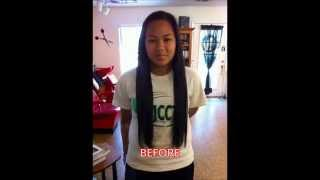 Two Years Hair Growth Time Lapse