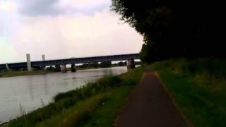 Na kole do Hamburku 94 Pojedeme pod vodou