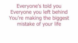 Your Biggest Mistake by New Found Glory lyrics