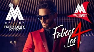 Maluma Felices los 4 (Official Video) Letraa..