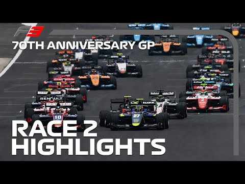 F3 Race 2 Highlights | 70th Anniversary Grand Prix 2020