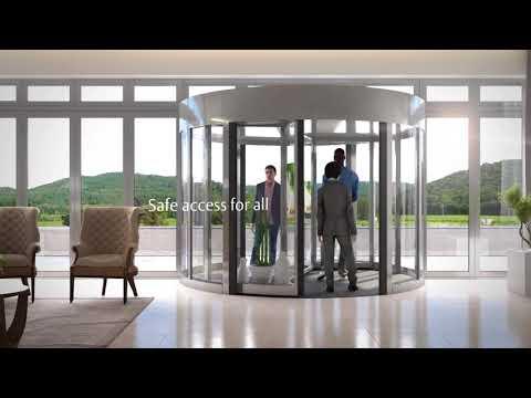 North America: The ASSA ABLOY revolving door range